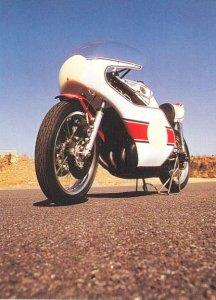 The 500cc Yamaha