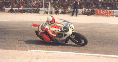 France 1973, 500cc, Jarno on his way to his first 500 victory