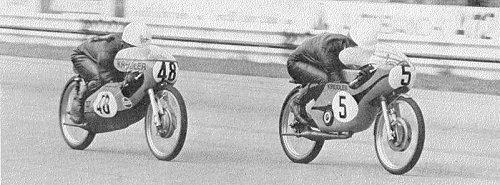 Kunz and Jarno, Monza 71, 50cc