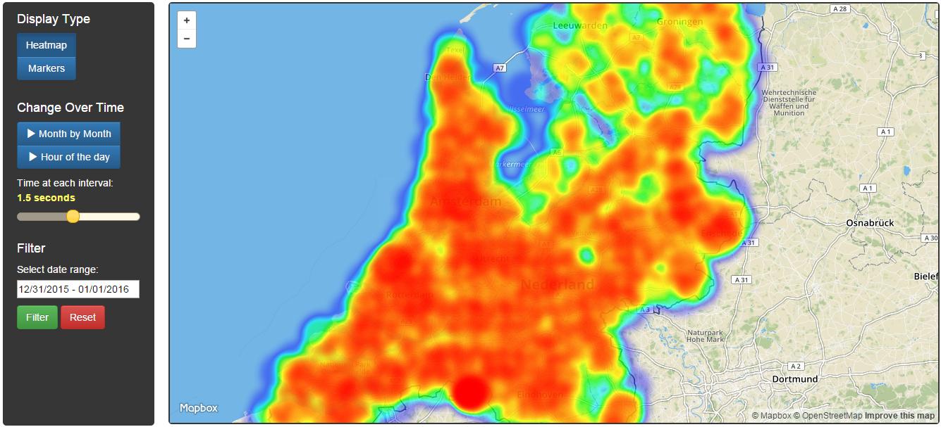 P2000 heatmap